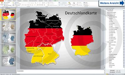 PowerPoint Deutschlandkarte, Bundesländer, Karte Deutschland, PowerPoint, Vektorkarte,Illustrator, Vectorkarte, AI, Karte für Illustrator, Landkarte, Länderkarte, Vektorformat, für Flyer, für Druck, Print, Druck, Flyer, InDesign, editierbar, Ebenen, Karte für Flyer, Karte für Print