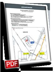 Anfahrtsskizze erstellen PDF-Layout, Lageplan erstellen PDF-Layout, Wegbeschreibung erstellen PDF-Layout, Anfahrtsplan erstellen PDF-Layout
