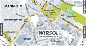Wegbeschreibung erstellen – WIRSOL