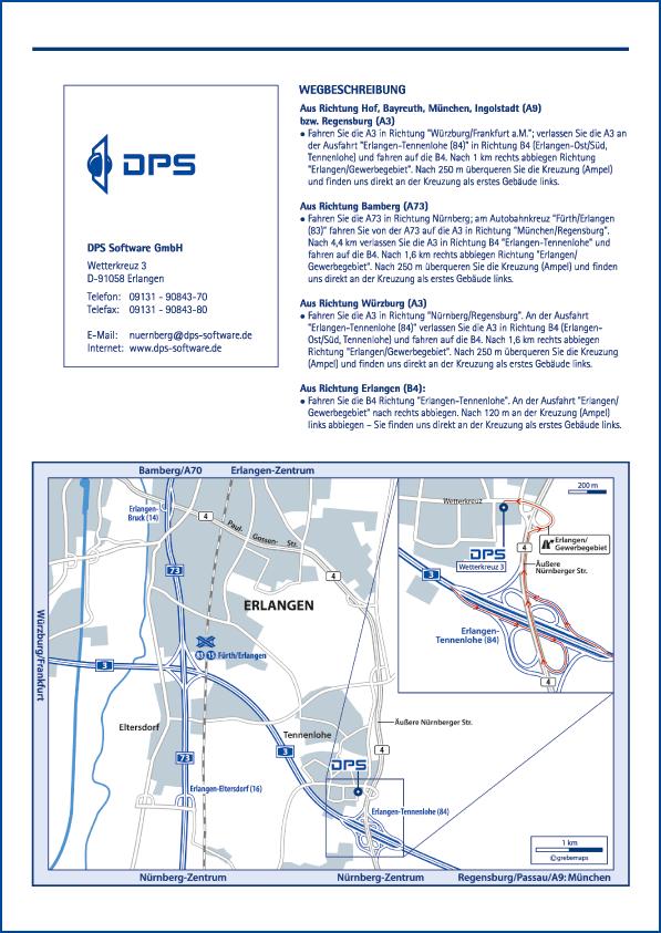 Karte Erlangen (DPS)