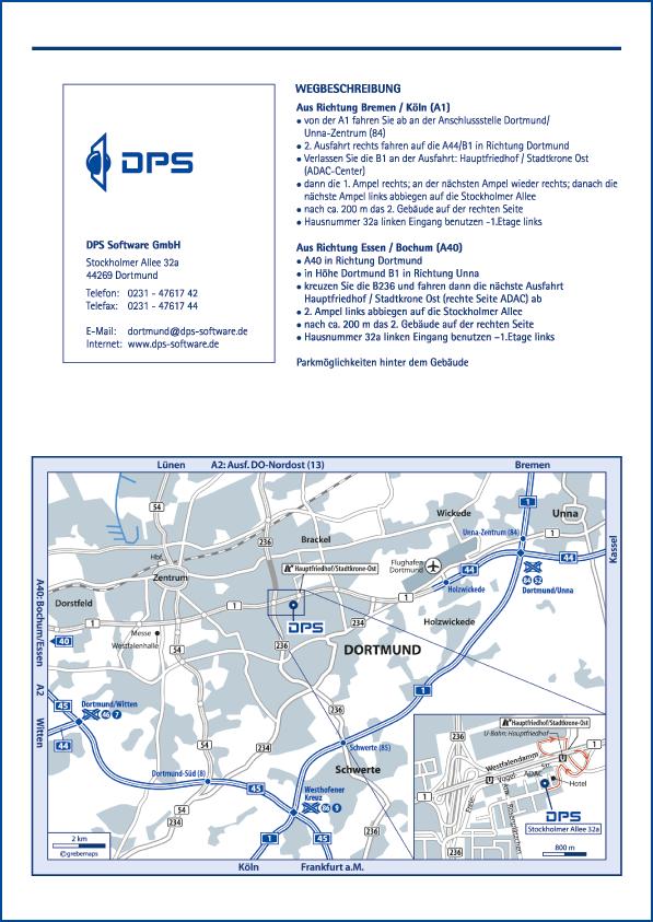 Karte Dortmund (DPS)