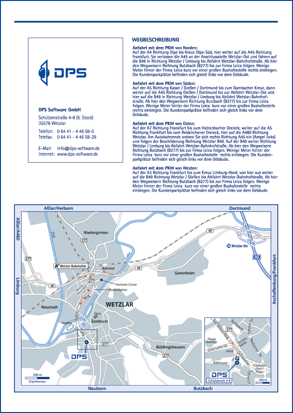 Karte Wetzlar (DPS)