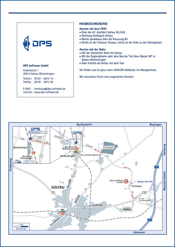 Karte Soltau (DPS)