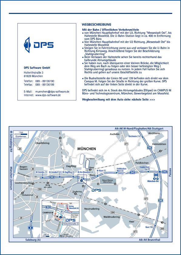 Karte München (DPS)