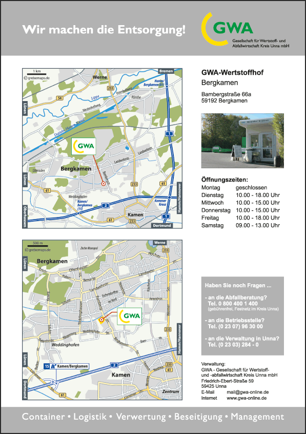Karte Bergkamen (GWA-BS)