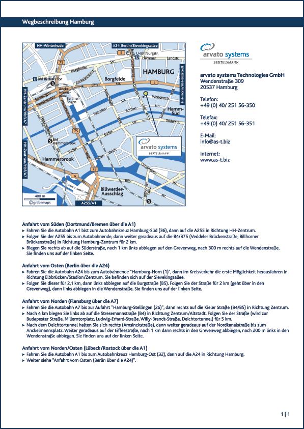 Karte Hamburg (arvato)