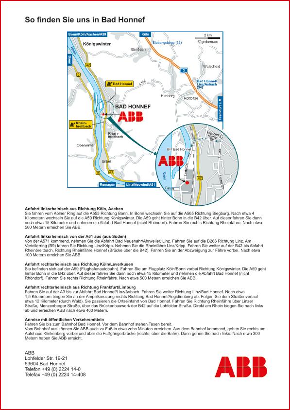 Karte Bad Honnef (ABB)