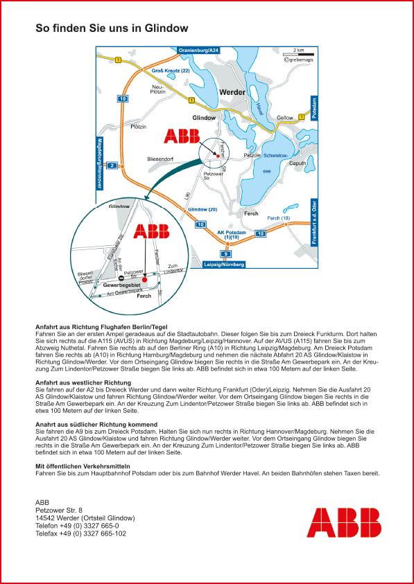 Karte Werder (ABB)