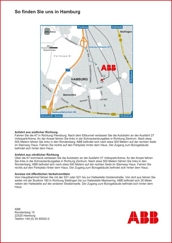 Karte Hamburg (ABB)