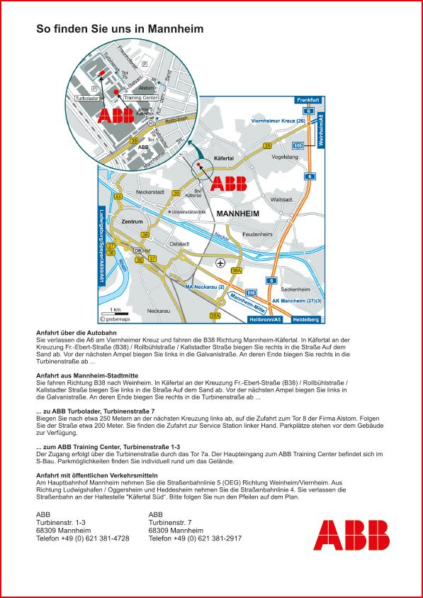 Karte Mannheim (ABB #2)