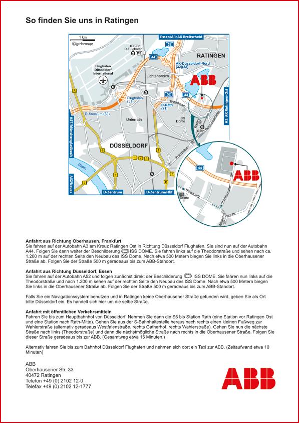 Karte Ratingen (ABB)