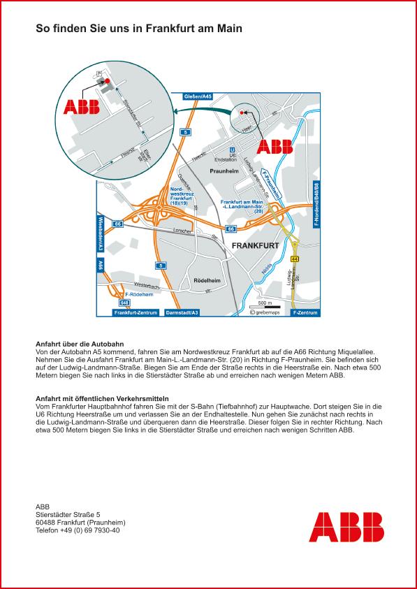 Karte Frankfurt (ABB)