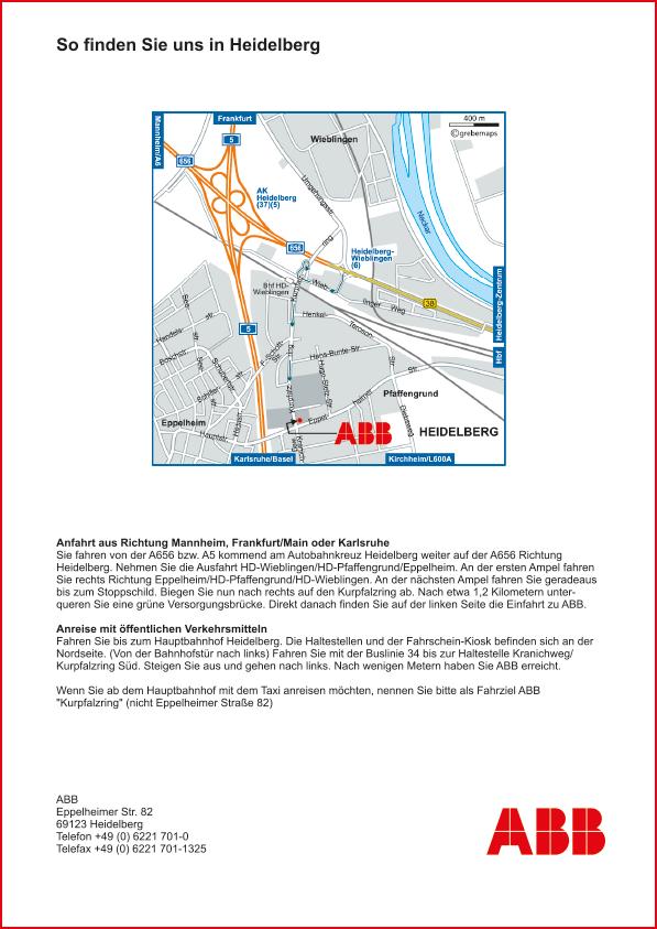Karte Heidelberg (ABB)