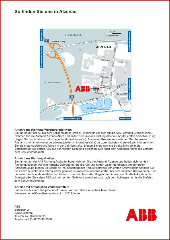 Karte Alzenau (ABB)