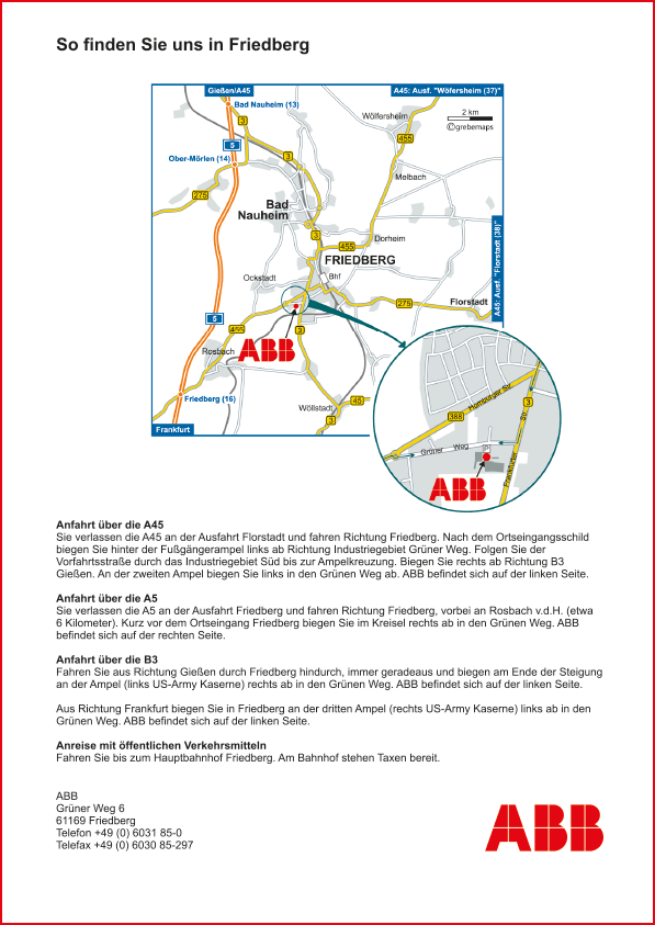 Karte Friedberg (ABB)