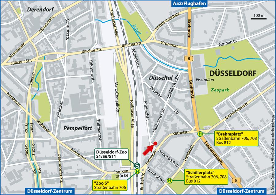 Düsseldorf, Ahnfeldstraße