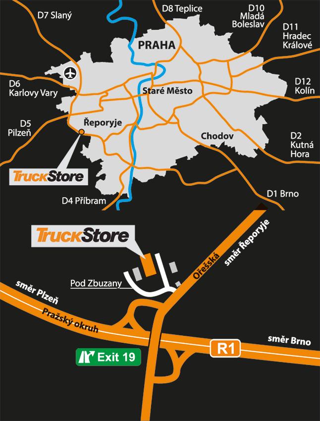 TruckStore Prag