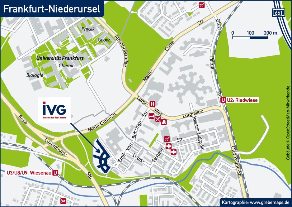 Karte Frankfurt-Niederursel (IVG)