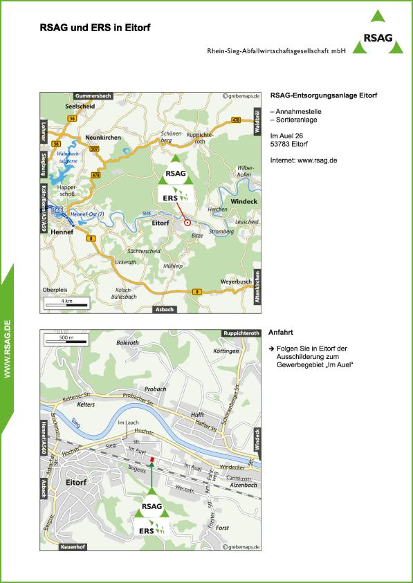 Karte Eitorf (RSAG)