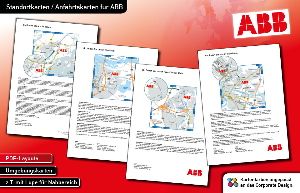 Standortkarten ABB
