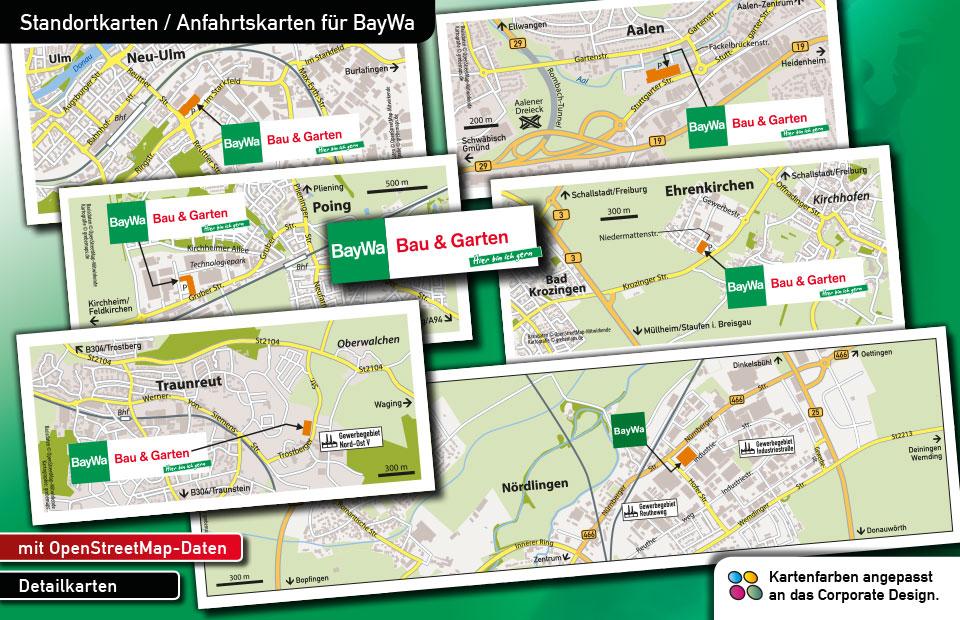 Standortkarten BayWa