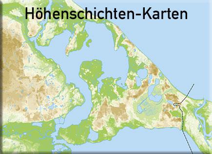 Höhenschichten-Karten