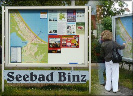 Touristische Ortspläne für Infotafeln