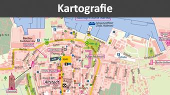 Kartografie, Ortsplan erstellen, Stadtplan erstellen, touristische Karte erstellen