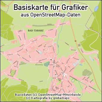 Basiskarte erstellen aus OpenStreetMap-Daten