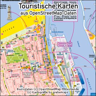 Touristische Karte erstellen aus OpenStreetMap-Daten