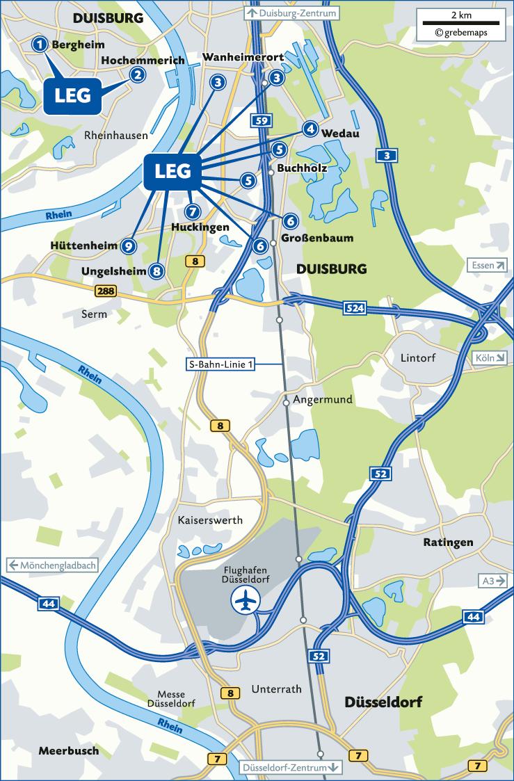 LEG NRW (DU-Süd)