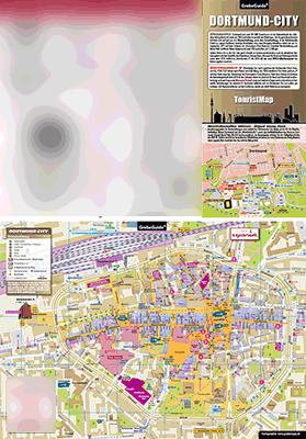 TouristMap, Touristische Karte, Dortmund, Dortmund-City, Karte, Ortsplan, Stadtplan, Innenstadtplan, Infokarte, Messe, Stadion, Hotel Esplanade, Dortmund-City, ShoppingMap, Shopping, Einkaufen, Einkaufskarte