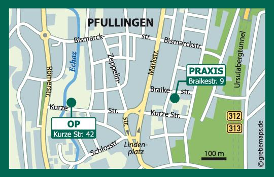 Pfullingen, Braikestraße