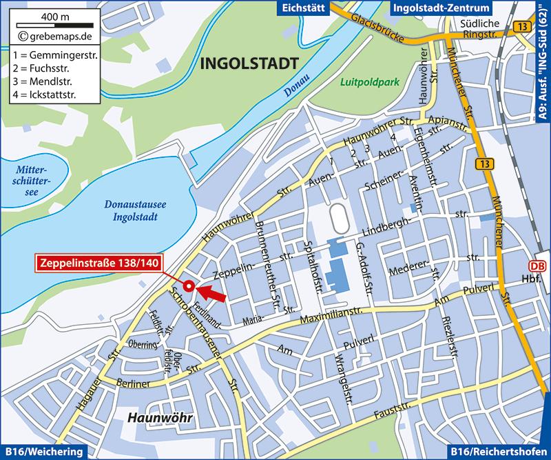 Ingolstadt, Zeppelinstaße