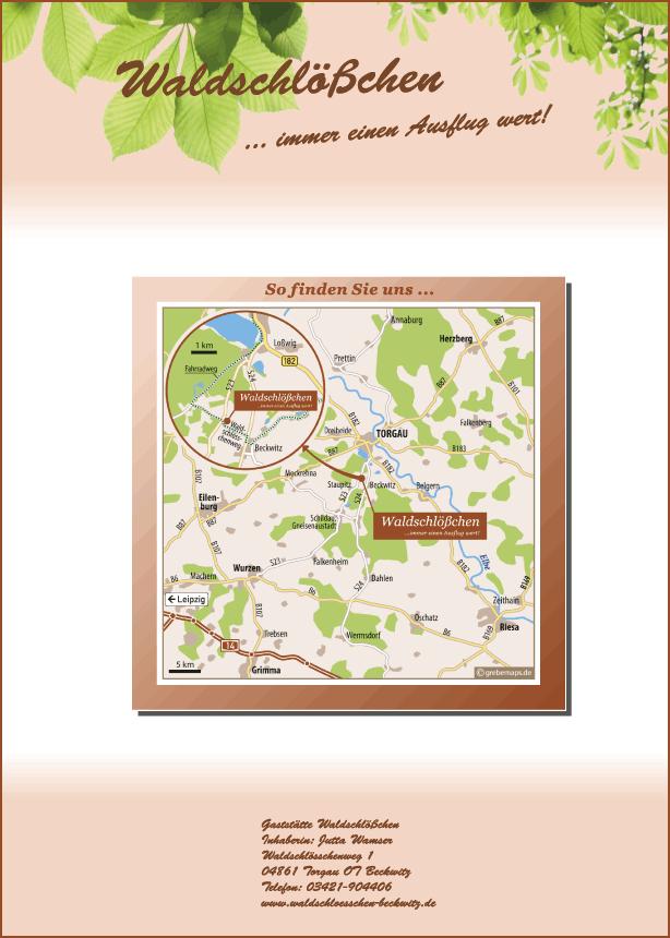 Wegbeschreibung erstellen Torgau
