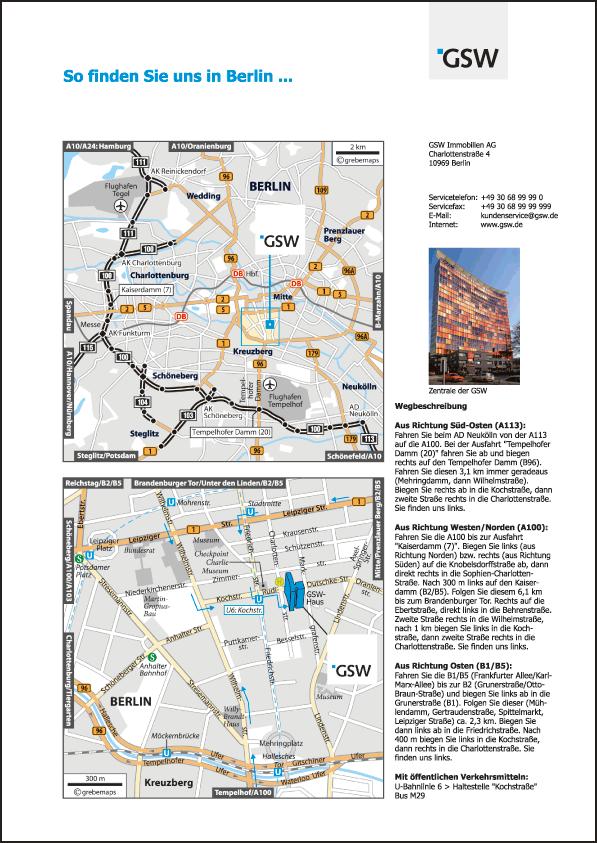 GSW Berlin, Charlottenstraße