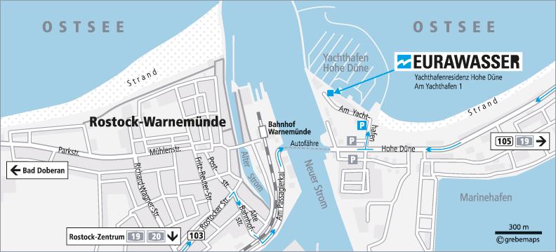 Eurawasser Rostock Störung