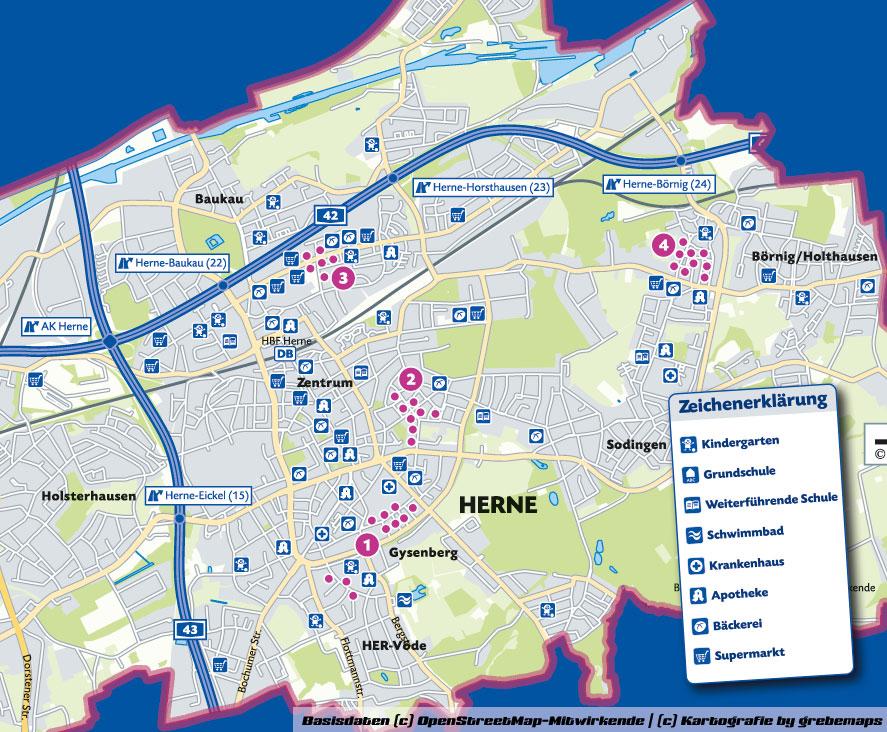 Visualisierung von Wohnungsbestand, Wohnungsbestandskarte, Karte für Immobilien, Desktop Mapping, DesktopMapping, Geo-Analyse, Mapping, Kartographie, thematische Kartografie, Daten-Aufbereitung, Daten-Analyse, Daten-Visualisierung, thematische Karte, Karten, Themakarte, Themakarten, Standort-Visualisierung, Analyse, Desktop, Mapping, Aufbereitung, thematische Kartographie