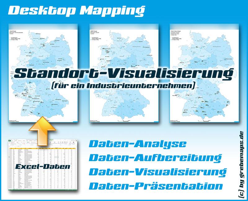 DesktopMapping, Desktop Mapping, Datenvisualisierung, Datenaufbereitung, Excel, Karte, Datenanalyse, Datenpräsentation, Auswertung, visualisieren, aufbereiten, darstellen, präsentieren, Visualisierung, QGIS