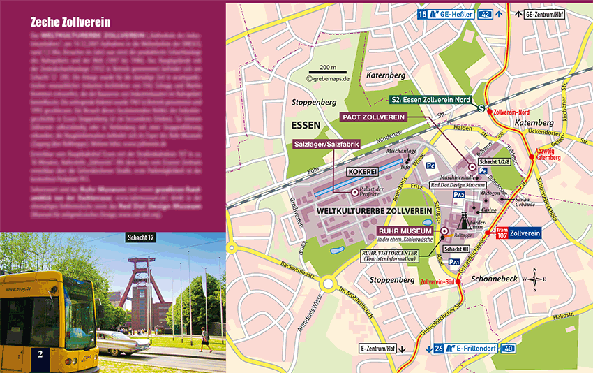 TouristMap Zeche Zollverein