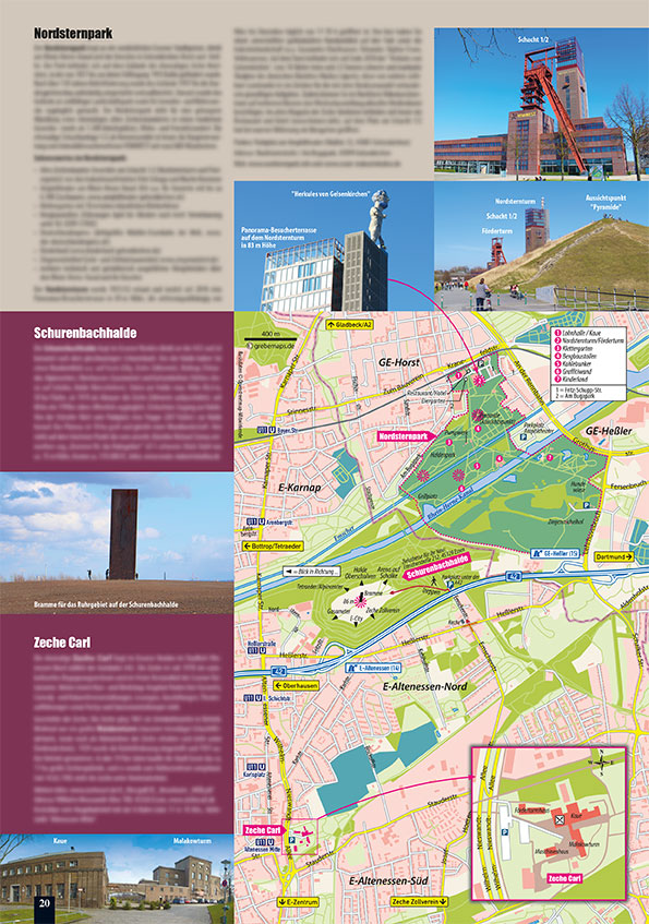 TouristMap Nordsternpark
