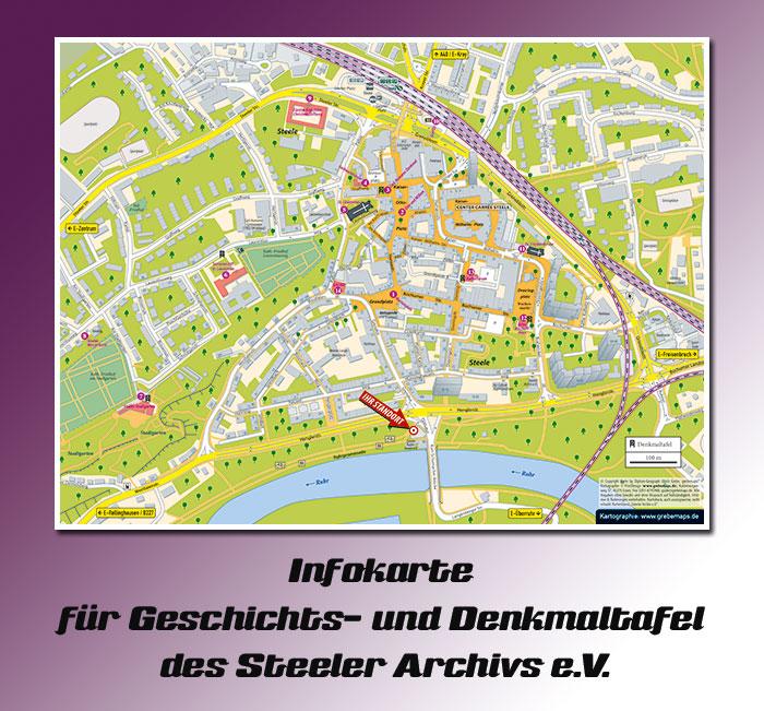 Infokarte Essen-Steele