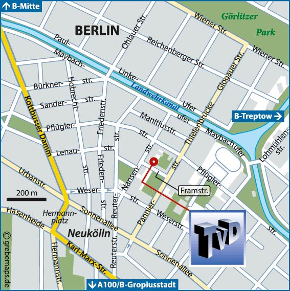 Karte Berlin-Neukölln