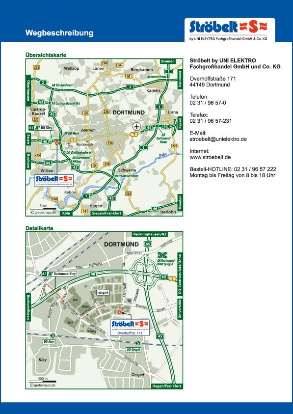Karte Dortmund-Kley (UE)