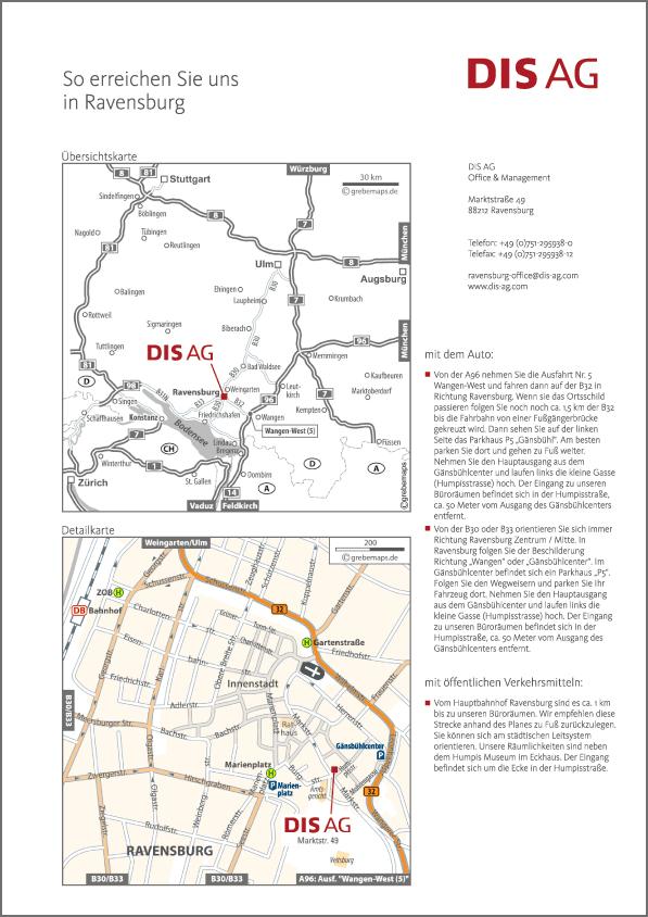 Karte Ravensburg (DIS AG)