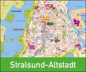 Stadtplan Stralsund-Altstadt, Ortsplan Stralsund-Altstadt