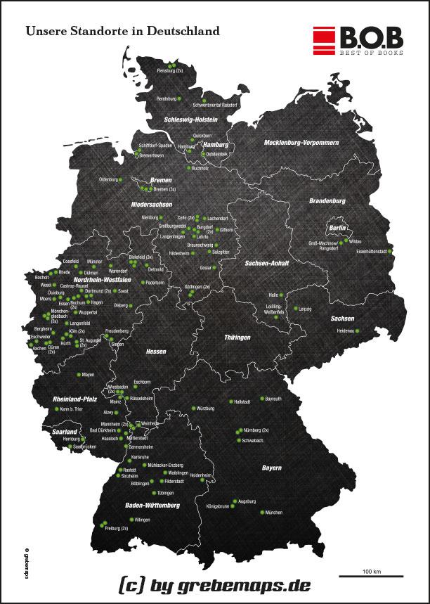Karte Deutschland (B.O.B.)