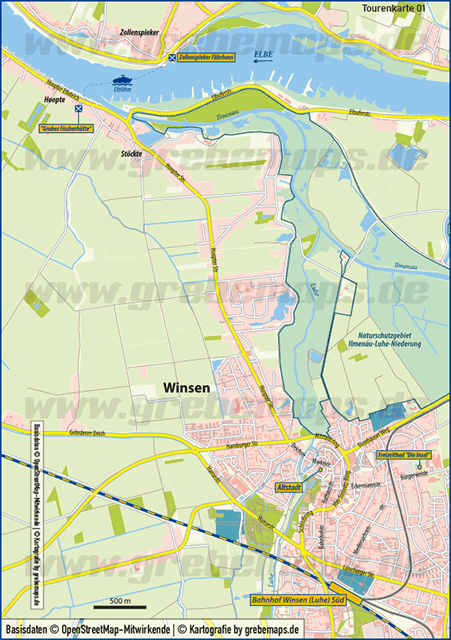 Karte Winsen (TouristMap)