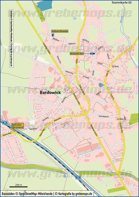Karte Bardowick (TM)