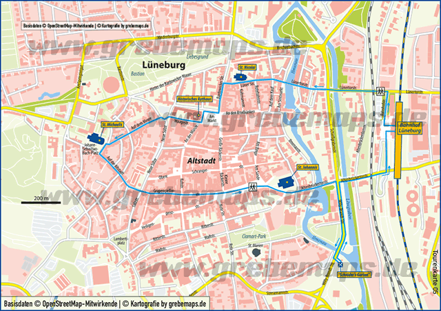 Karte Lüneburg (TM)